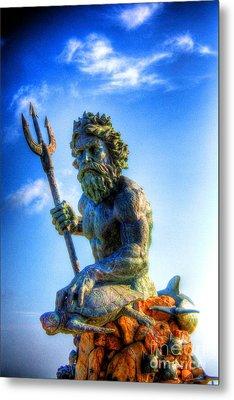 Poseidon Metal Print by Dan Stone