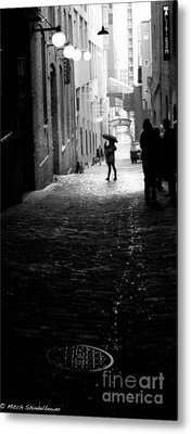 Metal Print featuring the photograph Post Alley by Mitch Shindelbower