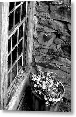 Pots And Panes Metal Print