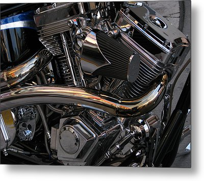 Power At Rest Metal Print by Samuel Sheats