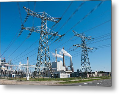 Power Plant  Metal Print by Hans Engbers