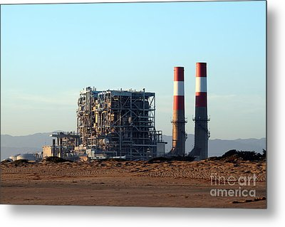 Power Station Metal Print by Henrik Lehnerer