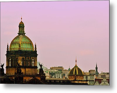 Prague - A Living Fairytale Metal Print by Christine Till