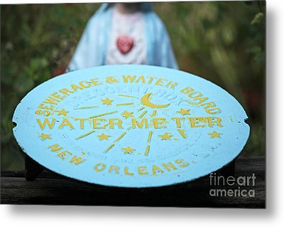 Metal Print featuring the photograph Pray No More Floods In New Orleans by Luana K Perez