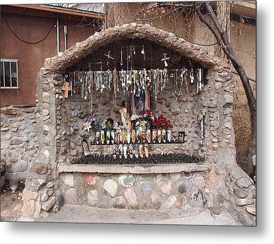 Prayers At Chimayo  Metal Print
