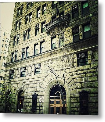 Pre-war Landmark Metal Print by Natasha Marco