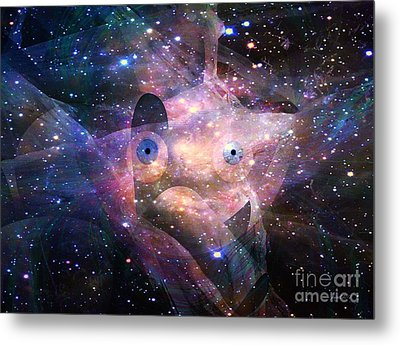Presence In The Healing Sky Metal Print by Fania Simon