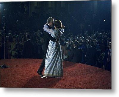President And Rosalynn Carter Dancing Metal Print by Everett