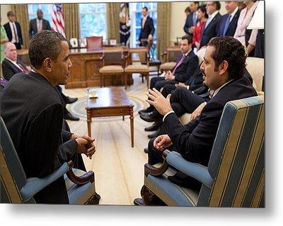 President Obama Reaffirmed Us Metal Print