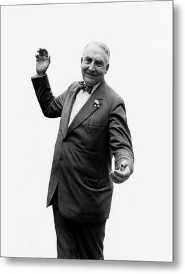 Metal Print featuring the photograph President Warren G Harding - C 1920 by International  Images