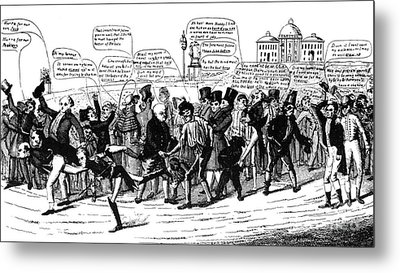 Presidential Campaign, 1824 Metal Print by Granger