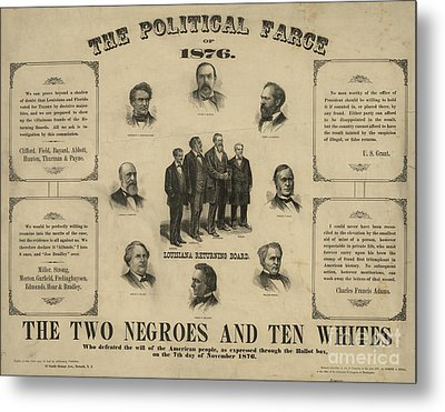 Presidential Election, 1876 Metal Print by Granger