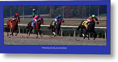 Presque Isle Downs Metal Print