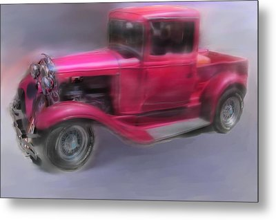 Pretty In Pink Metal Print by Mary M Collins