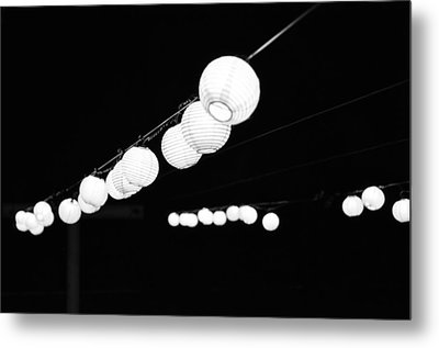 Pretty Little Lights Metal Print by Emily Smith