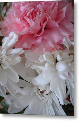 Pretty Pastel Petals Metal Print by Yvonne Scott
