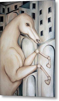 Prisoner 2010  Metal Print by Simona  Mereu