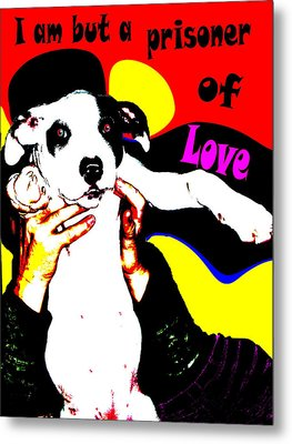 Metal Print featuring the painting Prisoner Of Love by Jann Paxton