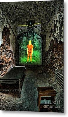 Prisoner Of The Soul Metal Print by Andrew Paranavitana