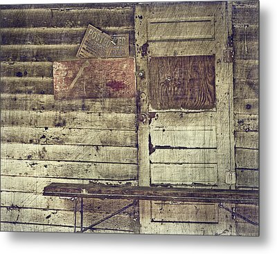 Private Property Metal Print by Kathy Jennings