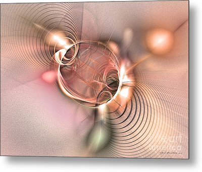 Prophecy Is True Metal Print by Abstract art prints by Sipo