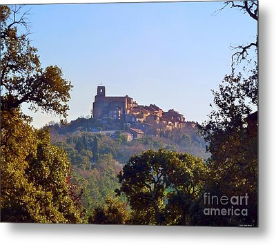 Metal Print featuring the mixed media Provence by Rogerio Mariani