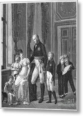 Prussian Royal Family, 1807 Metal Print by Granger