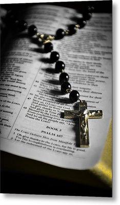Psalm 107 Metal Print by Anthony  Birchman