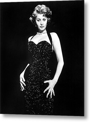 Publicity Shot Of Sophia Loren Used Metal Print by Everett