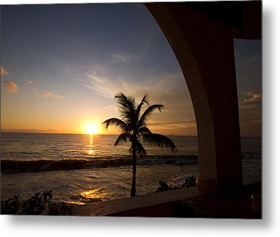 Puerto Rican Sunset I Metal Print by Tim Fitzwater