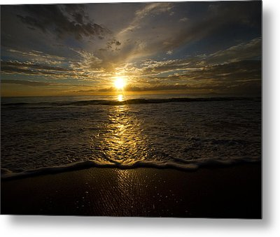 Puerto Rican Sunset II Metal Print by Tim Fitzwater