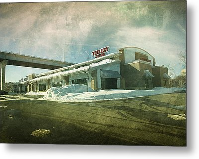 Pullman's Restaurant Metal Print by Joel Witmeyer