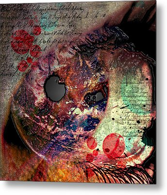 Pupil Of Pleasures  Metal Print by Empty Wall