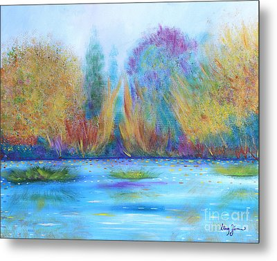 Metal Print featuring the painting Pure Harmony by Stacey Zimmerman