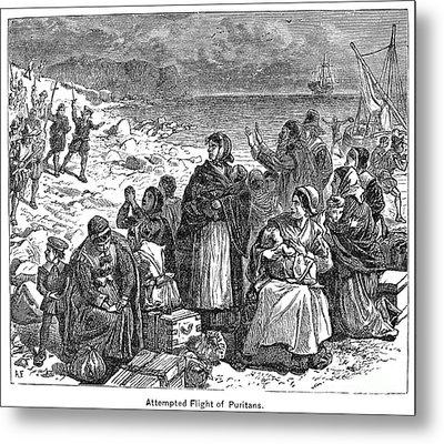 Puritan Flight Metal Print by Granger