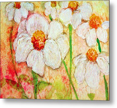 Purity Of White Flowers Metal Print by Ashleigh Dyan Bayer