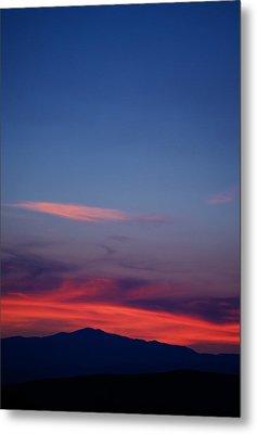 Purple Mountain Metal Print by Kevin Bone