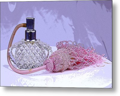 Purple Perfume Metal Print