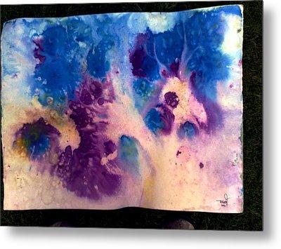 Purple Skies Metal Print by Tis Art
