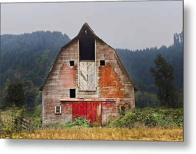 Put On A Happy Face Metal Print by Debra and Dave Vanderlaan