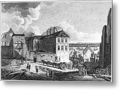 Quebec: Ruins, 1761 Metal Print by Granger