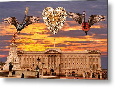 Queen Rocks Metal Print by Eric Kempson