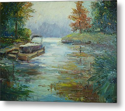 Quiet Place Metal Print by Holly LaDue Ulrich