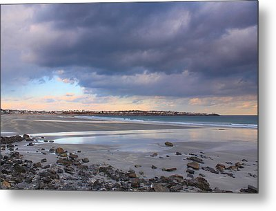 Quiet Winter Day At York Beach Metal Print by John Burk