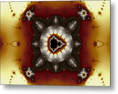 Quincunx Metal Print by Mark Eggleston