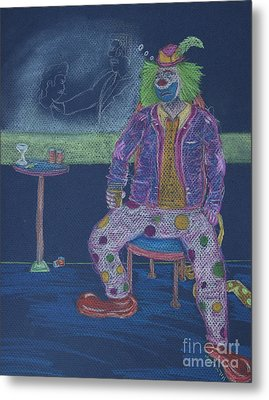 Quit Clowning Around Metal Print by Michael Mooney
