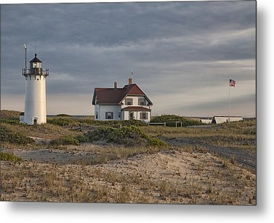 Race Point Lighthouse Metal Print by Nicholas Palmieri
