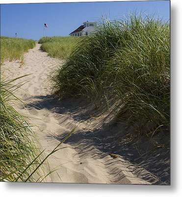 Metal Print featuring the photograph Race Point by Michael Friedman