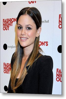 Rachel Bilson At A Public Appearance Metal Print by Everett