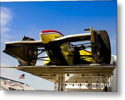 Racing Car Nose Metal Print by Darcy Michaelchuk